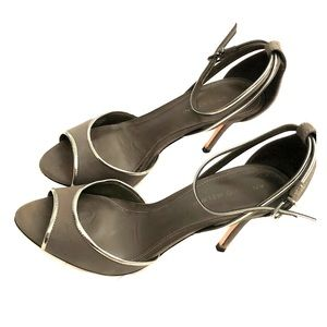 Antonio Melani dress sandals. Gray